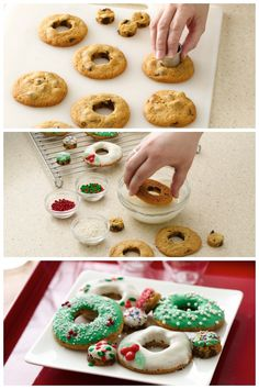 Cookie Wreaths Recipe from our friends at Betty Crocker