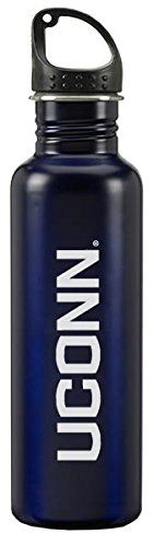 University of Connecticut - 24-ounce Sport Water Bottle - Blue -- Read more reviews of the product by visiting the link on the image.