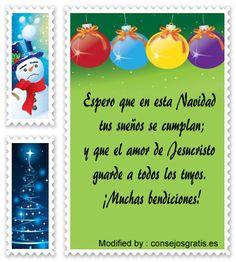 descargar poemas para enviar en Navidad,buscar postales para enviar en Navidad: http://www.consejosgratis.es/mensajes-de-feliz-navidad/
