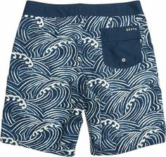 BRIXTON SONAR BOARDSHORT > Mens > New Arrivals | Swell.com Billabong, Mens Swim Shorts, Summer Shorts, Men's Triathlon, Bermudas Shorts, Sperrys Men, Mens Trends, Surf Wear, Man Swimming