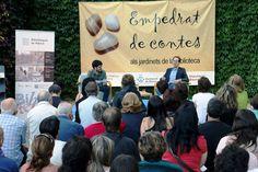Capvespres als jardinets de la biblioteca, en aquesta ocasió amb Pablo González Bernardo, director de l'Orquestra Simfònica de Barcelona i Nacional de Catalunya.