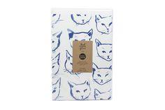Indigo Cats Gift Wrap   Moorea Seal