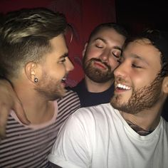 """#8memories having a blast with this two @samsmithworld and @adamlambert at our party #8nyc at #no8 very Thursday in a while. NO PARTY THIS WEEK WE NEED TO…"""