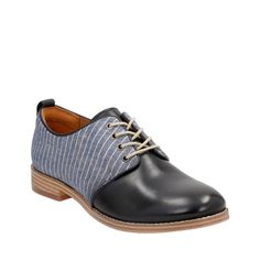 Zyris Toledo Navy Leather/Fabric Combi womens-casual-shoes