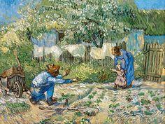 Vincent van Gogh - Erste Schritte (100,0 x 75,0 cm)                                                                                                                                                                                 Mehr