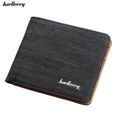 Man Canvas Mens Wallets Top Quality Wallet Card Holder Multi Pockets Credit Cards Purse For Male Simple Design Brand Purses ** Click the VISIT button to enter the website