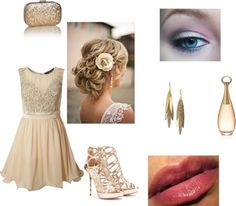 """Casamento de Dia"" by barbaratoffolli ❤ liked on Polyvore"