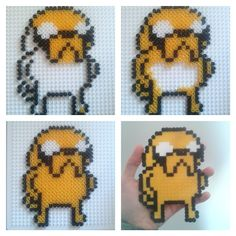 Jake - Adventure Time hama beads by detrasdelflequillo