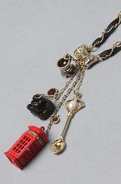 Betsy Johnson Royal Engagement necklace