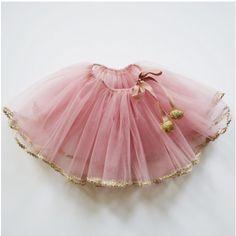 Atsuyo et Akiko Kids' Golden Pink Tutu