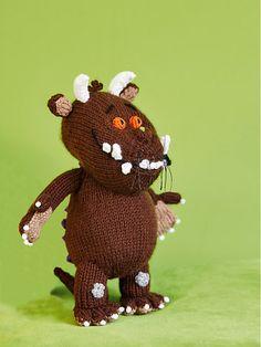 Gruffalo Knitting Pattern