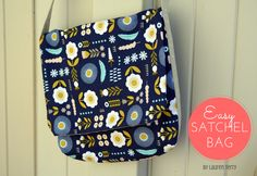 Fly Away Quilts: Easy Satchel Bag Tutoral