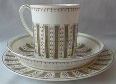 English Porcelain - Wedgwood Susie Cooper Design Tri set for sale in Umtentweni (ID:224474250)