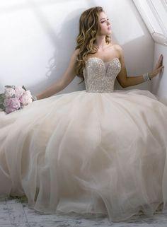 Suknia balowa w stylu princessy - SlubNaGlowie.pl