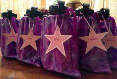 gymnastics party | Gymnastic theme birthday party. Grip bag goodie ... | Gymnastics Party