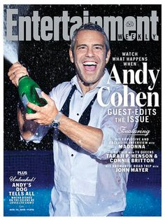 Not only is Andy Cohen gracing the cover of Entertainment Weekly, but he guest edited the issue! Click to find out what you can expect, plus see which iconic pop star he got to interview for the magazine.