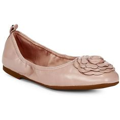 Taryn Rose Women's Rosalyn Ballet Flats ($165) ❤ liked on Polyvore featuring shoes, flats, blush, ballet flats, ballerina shoes, square-toe ballet flats, black ballet flats and taryn rose shoes