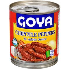 Goya Chipotle Peppers In Adobo Sauce 7 oz for sale online Chipotle Salsa Recipe, Chipotle In Adobo Sauce, Chipotle Copycat Recipes, Chipotle Pepper, Chipotle Chili, Spicy Sauce, Summer Salad Recipes, Healthy Pasta Recipes, Vegetarian Recipes Easy