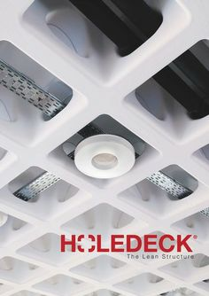 The new concrete waffle slab HOLEDECK is a patented system of voided slabs for buildings with big spans between supports and a high level of services. http://www.catalogindustry.com/en/Document/299/holedeck-catalogs