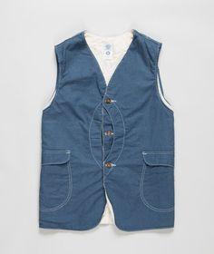 Post Overalls - Royal Traveler Vest