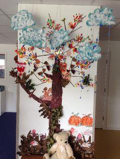 Autumn classroom display photo - SparkleBox