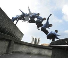 Parkour Videos and Extreme Urban Sports: No one gets around cities with as much subversive class as parkour building jumpers.