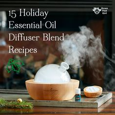 15 holiday essential oil diffuser blend recipes