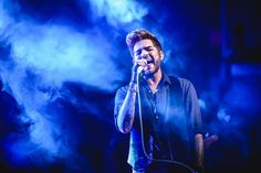 Adam Lambert - performing  songs from his new album The Original High at The Civic - Auckland Australia