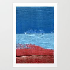 """""""Blue Blue Red"""" by Shy Photog - $19.00 Straight Photography, Tapestry, Artists, Traditional, Red, Blue, Painting, Hanging Tapestry, Tapestries"""
