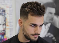 Top 100 Men's Hairstyles & Haircuts for Men - Hairstyle Man New Men Hairstyles, Cool Mens Haircuts, Undercut Hairstyles, Men's Haircuts, Elegant Hairstyles, Amazing Hairstyles, Trending Hairstyles, Pompadour Hairstyle, Mens Spiked Hairstyles