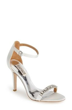 Badgley Mischka 'Elope' Crystal Embellished Sandal (Women) | Nordstrom
