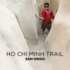 Dangerous and Hidden Surf Trail in La Jolla - Ho Chi Minh Trail San Diego.