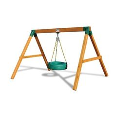 Free Standing Tire Swing Set by Gorilla Playsets Swing Set Kits, Wood Swing Sets, Recycled Furniture, Handmade Furniture, Reuse Old Tires, Recycled Tires, Reuse Recycle, Recycled Crafts, Recycling