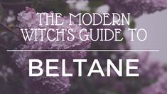 A mini online course to guide you in understanding and celebrating the pagan sabbat of Beltane