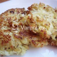 Fotografie receptu: Rychlé placky ze zelí Vegetable Recipes, Cauliflower, Pancakes, Vegetables, Cooking, Inspiration, Author, Kitchen, Biblical Inspiration