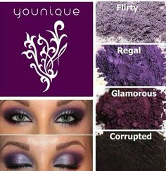 Younique eyeshadows :)   I love these colors!!! :))  Get yours at  Www.youniqueproducts.com/jessicarohrer