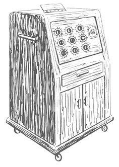 x dowsing machine