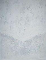 white coat - manto blanco   técnica mixta sobre lienzo 116 x 89 cm Dory, The Past, Snow, Outdoor, Future, White Mantle, Canvases, Outdoors, Future Tense