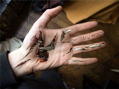 Biomechanical Tattoo Hand