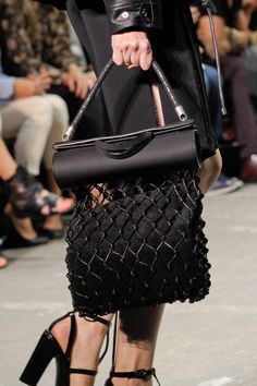 Now that is one interesting bag, :/ Alexander Wang Spring 2013