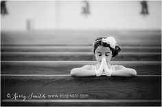 first holy communion girl pose. kerry b smith photography Richmond and Williamsburg, Virginia Children and Family Photographer: Arianna's First Communion {Midlothian Photographer} www.kbsphoto.com