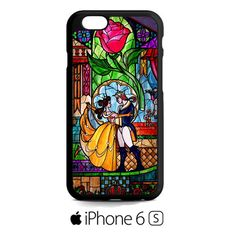 beauty and the beast stained glass iPhone 6S  Case