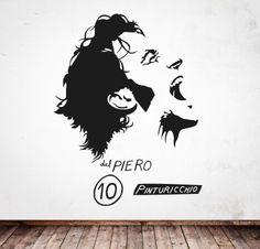 DEL PIERO http://www.myvinilo.com/vinilos-pop/del-piero.html Vinilos decorativos, hogar, decoración, interiores, pared, diseño, grafica, wall decals, stickers, decoration, design, graphics, arte, art, soccer, football, score, goal, player, game, ball, del piero, forza italia, juventus.