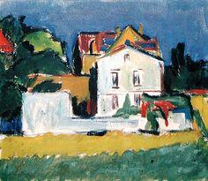 Ernst Ludwig Kirchner - House in a Landscape