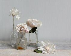 Ideas de cómo decorar con botellas vintage de boticario