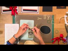 Crafting My Style With Sue Wilson - Shimmery Channel Card For Creative Expressions - YouTube