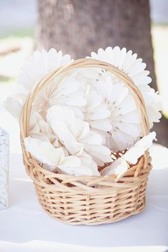 wedding ceremony fans for outdoor wedding #weddingideas #weddingfans #weddingchicks http://www.weddingchicks.com/2014/03/04/take-your-time-wedding/