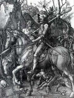 Albrecht Dürer - the Knight, Death and the Devil