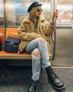 Light Before Dark Teddy Cream Zip-Through Jacket | Urban Outfitters | Women's | Coats & Jackets via @nicolealyseee #UOEurope #UrbanOutfittersEU #UOonYou