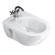 Canova Royal Wall-Mounted Bidet. This wall-mounted bidet is the perfect complement to your dream bathroom: http://www.cphart.co.uk/bidets/wall-mounted-bidets/ #bidet #bidets #bathroom